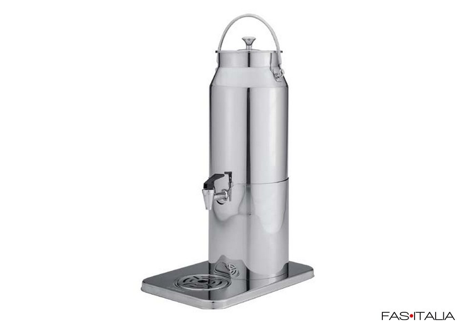 Dispenser di latte caldo 5 lt inox